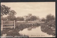 Hampshire Postcard - Church of St Cross, Winchester    RS118