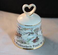 Royal Doulton Christmas Bell To Grandmothers House We Go Bone China