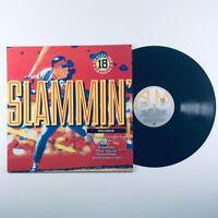Slammin' (1990) Various Artists LP Album Vinyl Record - 18 Dancefloor Smashes