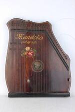 Mandolia Zither Schutzmarke Harfenistin um 1900