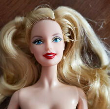 BARBIE DOLL NUDE - 'HOLIDAY 2014' - BLOND HAIR - SPARKLY EYESHADOW - BEAUTIFUL