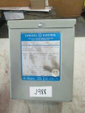 General Electric Specialty Transformer Mod: 9T51B10 1 KVA 1PH PRI 240/480 (New)