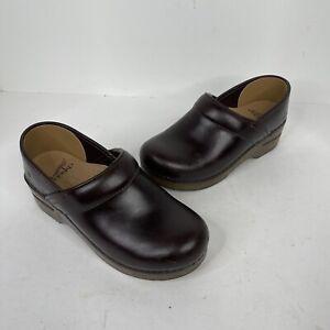 Dansko Professional Brown Oiled leather Sz.35 Euro US 5 Women's Clogs
