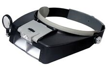 Lighted Magnifying Glasses Eye Set Magnifier Glass Inspecting Tool Head Band