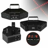 LED RGB Bühnenbeleuchtung Laser Strobe Beam DMX Disco DJ Party KTV Projektor DE