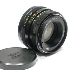 Pentax M42 fit Helios 58mm 1:2 44M lens, A/M aperture fits M42 camera mount 1980