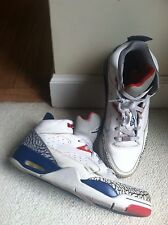 Nike Air Jordan Son of Mars Men sz 10 Shoes Cement Blue 580603-106