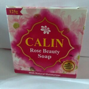Delma Calin Natural Moisturizer Soap Face Body Clear Beauty Anti Bacterial Rose