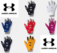 Under Armour Boys' Youth Kids UA F7 Football Sticky Catching Gloves - 1351542