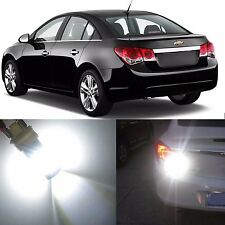 Alla Lighting Brake Tail Light 7443 White 12V LED Bulbs for Chevy Sonic Spark EV