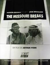 THE MISSOURI BREAKS - Brando,Nicholson - AFFICHE 120x160/47x63 FRENCH POSTER RR