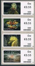 Ireland 2012 55c Animals Pike-Anemone Def.s/adh 4v MNH