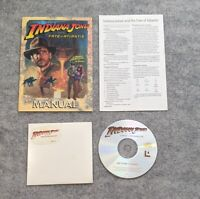 Indiana Jones and the Fate of Atlantis IBM PC CD-ROM Lucasarts computer game