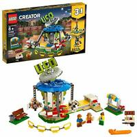 LEGO Creator 3in1 Fairground Carousel 31095 Space-Themed Building Kit Toy Gift