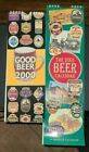 GOOD BEER 2000 AND THE 2001 BEER CALENDAR LOT OF 2