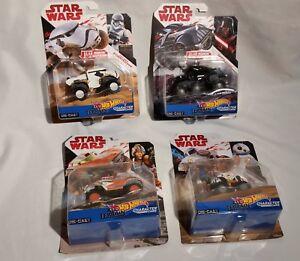 Star Wars Hot Wheels All Terrain Cars Die-cast BB-8 Storm trooper Darth & Luke