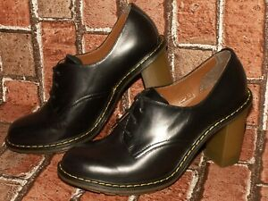 Dr. Martens AirWair JINELLE leather heels shoes uk 5 eu 38 us 7 Doc#419