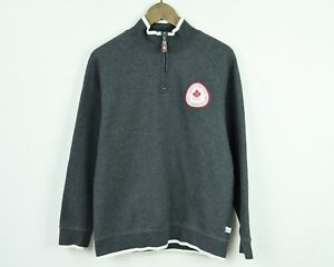 CANADA OLYMPIC TEAM Jumper TORINO 2006 Men's Sweater Pullover HBC Canadian Top