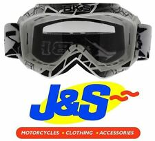 BKS Kids MX Goggles Motocross Goggle Motorbike Motorcycle Off-road White J&s