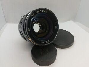SUPER RARE!! MC MIR-24M 35mm f/2 Wide Angle Soviet Flektogon SLR lens M42