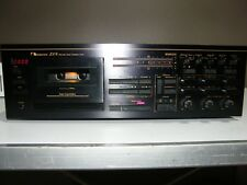 VERY RARE AND DESIRABLE NAKAMICHI ZX-9 CASSETTE TAPE DECK, COMPLETELY REBUILT