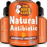 GOODGROWLIES Natural Antibiotic for Dogs and Cats - Kennel Cough Medicine for Pe