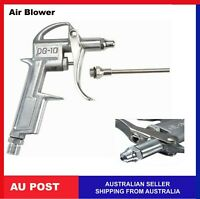 Air Blow Gun Pistol Trigger Cleaner Compressor Duster Dust Blower Nozzle