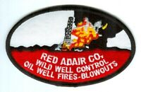 Red Adair Company Wild Well Control Oil Well Fires Blowouts Patch Texas TX