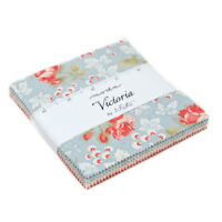"""Moda FABRIC Charm Pack ~ VICTORIA ~ by 3 Sister's - 42 - 5"""" squares"""