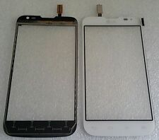 Display Touch Screen vetro digitalizzatore FLEX BIANCO LG OPTIMUS l70 d325 DUAL