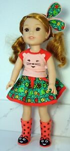 American Girl Wellie Wisher Doll Willa