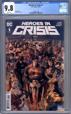 Heroes in Crisis #1   Superman Wonder Woman Batman  1st Print CGC 9.8