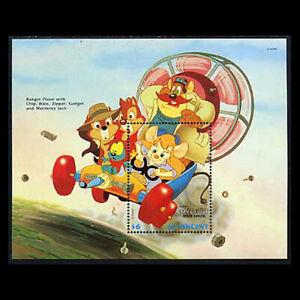 St. Vincent, Sc #1807C, MNH, 1992, S/S, Disney, Rescue Rangers, Chip n Dale, D-A
