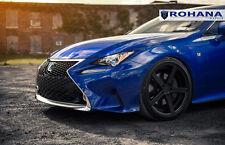 20x9 20x10 +40 Rohana RC22 5x114 Black Wheel Fit Lexus RC350 F-sport 5x4.5 2015