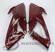 2015-2017 BMW S1000RR Upper Side Mid Long Panel Fairing Cowl Carbon Fiber Red