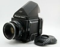【N.MINT】 MAMIYA RB67 Pro + SEKOR 127mm F3.8 Lens + 120 Film Back from Japan 1277