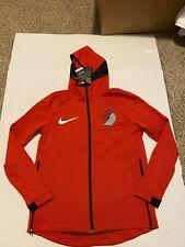 Nike Portland Trailblazers Therma Flex Hoodie Red/Black Standard Fit Dri-Fit NWT