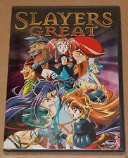 Slayers Great (DVD, 2004) Animation Japanese Action ADV Films R1 BRAND NEW