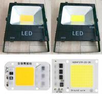 Smart IC 30W 50W LED Light Bulb AC 220V COB Chip Beads Plate Floodlight SMD Lamp