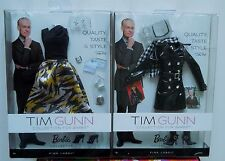 BARBIE MATTEL MODEL MUSE TIM GUNN COLLECTION FASHION ACCESSORY 2-PACK SET NEW