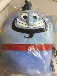 Mocchi Mocchi Plush 35 cm Soft Children Stuffed Toy Aladdin Genie Blue