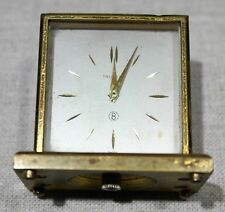 TRUCCHI 8 DAYS CLOCK GOLD PLATED VERY NICE MODELS
