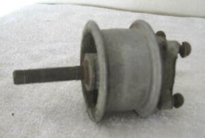 """Ford Model T Aluminum Fan Pulley w/Shaft - Marked """"Ford"""" & T 603   1920 to 1926"""