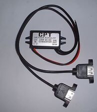 12V to 5V twin USB converter (3 amp) UK stock