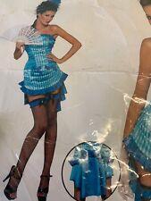 SEXY WOMEN FEVER LADY ELEGANCE COSTUME, FANCY DRESS, Size S 8-10 SEXY COSTUME
