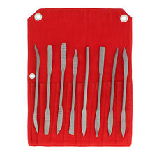 DCT Riffler File Riffler Rasp 8pc Set for Wood & Metal Sculpting Shaping Filing