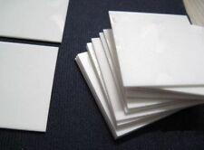 High Purity 99% ALUMINA Aluminum Oxide CERAMIC Plate Sheet 100X50X7mm #M2910 QL