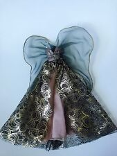 Barbie doll Model Muse fashion Angel Couture Gown and Halo
