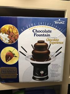 Rival Chocolate Foutain
