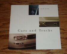 Original 1995 Toyota Car & Truck Full Line Sales Brochure 95 Land Cruiser Camry
